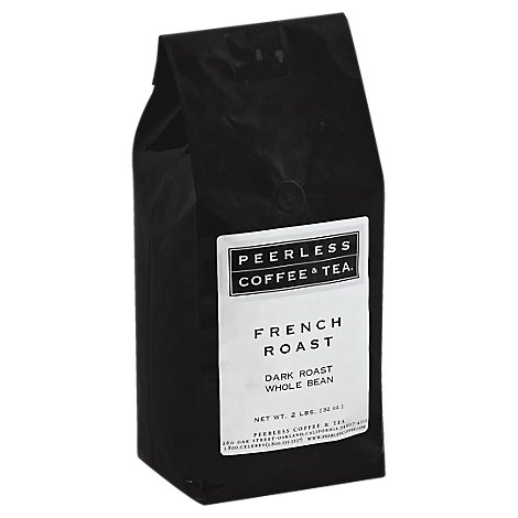 Peerless Coffee & Tea Coffee Whole Bean Dark Roast French Roast - 32 Oz