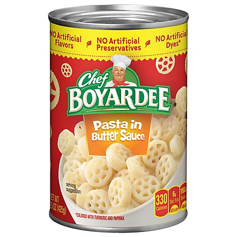 Chef Boyardee Pasta In Butter Sauce Can - 15 Oz