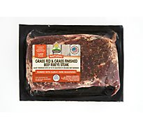 SunFed Ranch Grass Fed Beef Ribeye With Garlic Herb Seasoning - 0.75 LB
