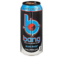 Bang Energy Drink Blue Razz Can - 16 Fl. Oz.