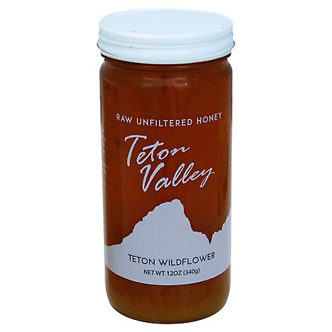 Rmh Teton Vally Wildflower Honey - 12 Oz