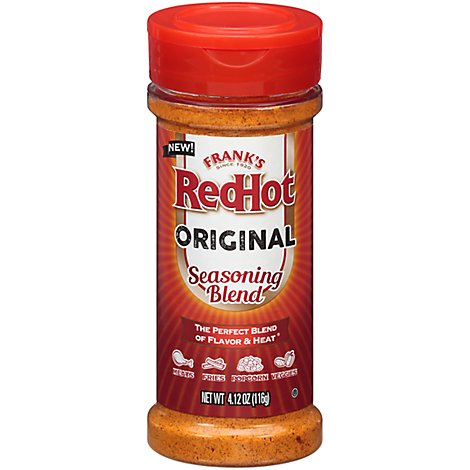 Franks RedHot Seasoning Blend Original - 4.12 Oz