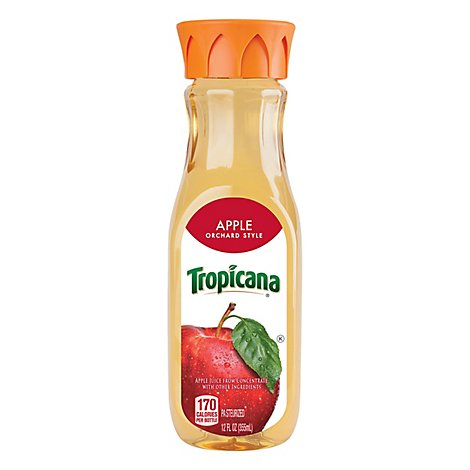 Tropicana Juice Apple Orchard Style Chilled - 12 Fl. Oz.