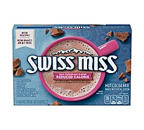 Swiss Miss Hot Cocoa Reduced Calorie Envelopes - 3.12 Oz