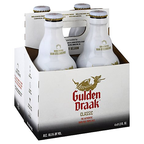 Gulden Draak Belgian Ale In Bottles - 4-11.2 Fl. Oz.