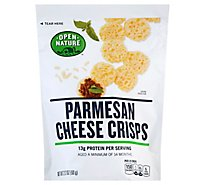 Open Nature Cheese Crisps Parmesan - 2.12 Oz