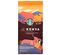 Starbucks Coffee Whole Bean Medium Roast Kenya Bag - 9 Oz