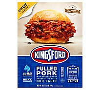 Kingsford Fully Cooked Pulled Pork Sweet Hickory - 1 Lb