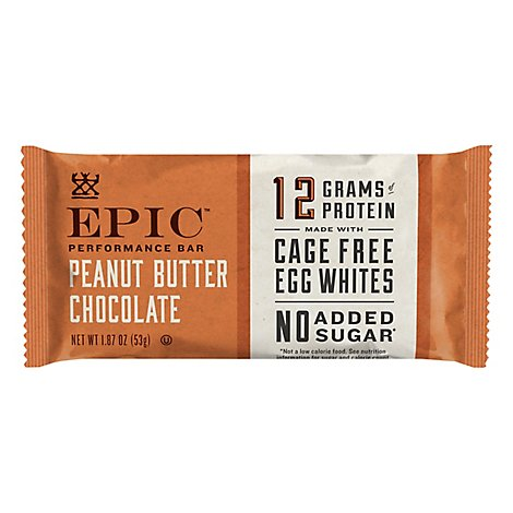 Epic Performance Bar Peanut Butter Chocolate - 1.87 Oz