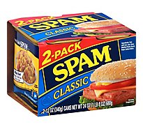Spam Classic Luncheon Meat - 2-12 Oz