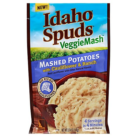 Idaho Spuds Veggiemash Cauliflower Ranch - 3.74 Oz