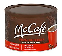 McCafe Coffee Arabica Ground Medium Roast Premium Roast Can - 24 Oz