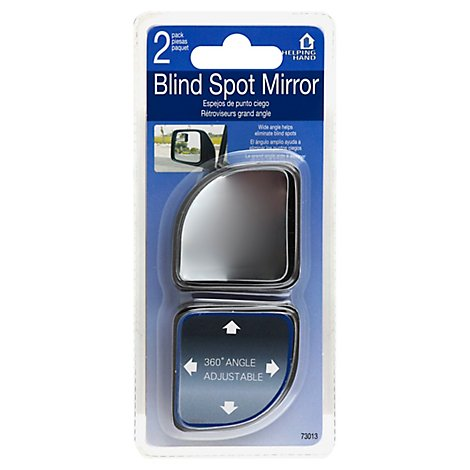 Helping Hand Mirror Blind Spot Blister Pack - 2 Count
