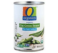 O Organics Green Beans Cut No Salt Added - 14.5 Oz
