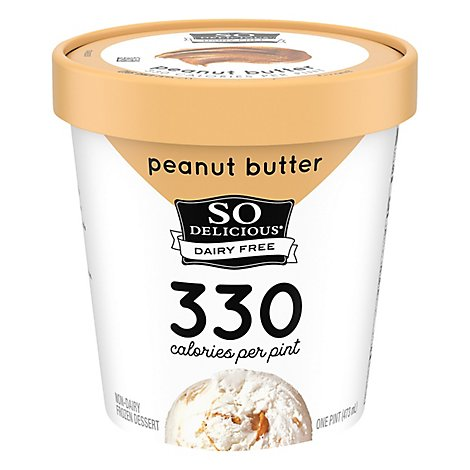 So Delicious Peanut Butter Swirl Ice Cre - 1 Pint