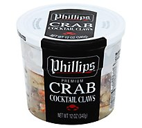 Phillips Crab Cocktail Claws - 12 Oz