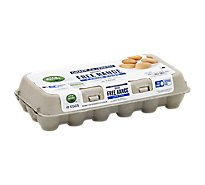 Open Nature Eggs Brown Free Range Large - 18 Count