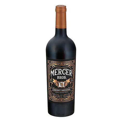 Mercer Family Vineyards Cabernet Wine - 750 Ml