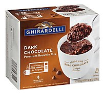 Ghirardelli Chocolate Brownie Mix Premium Dark Chocolate Box - 9.2 Oz