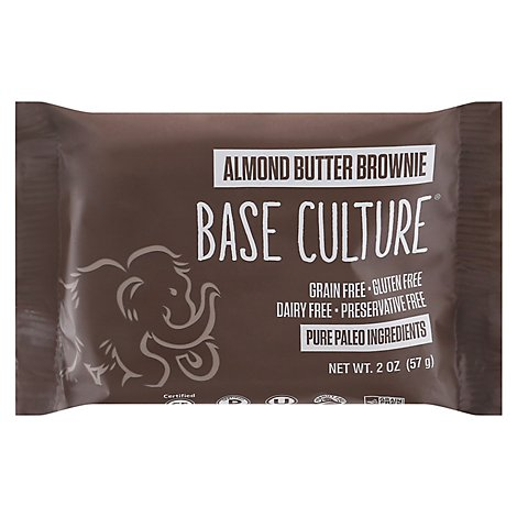 Base Culture Brownie Almond Butter - 2.2 Oz