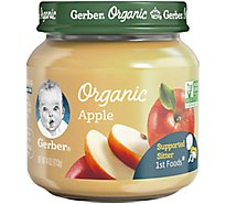 Gerber Organic 1st Foods Baby Food Apple Jar - 4 Oz