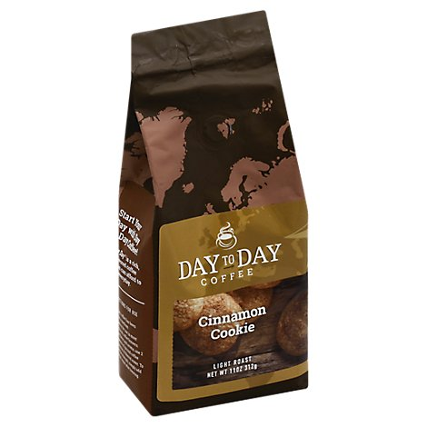 Day 2 Day Cinnamon Coffee - 11 Oz