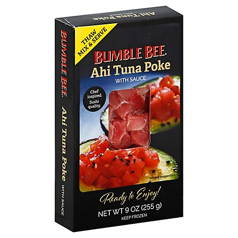 Bumble Bee Ahi Tuna Poke With Sauce - 9 Oz