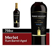 Robert Mondavi Private Selection Rum Barrel Aged Merlot Red Wine - 750 Ml