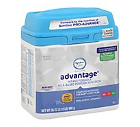 Signature Care advantage Infant Formula Milk Based Powder Birth To 12 Months - 35 Oz