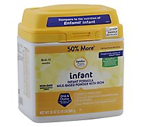 Signature Care infant Infant Formula Milk Based Powder Birth To 12 Months - 35 Oz