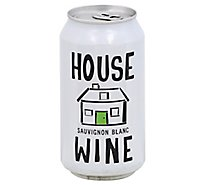 House Wine Sauvignon Blanc Can Wine - 375 Ml