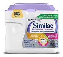 Similac Pro-Total Comfort Non-GMO with 2-FL HMO Infant Formula with Iron Powder - 22.5 oz