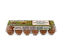 Nestfresh Pasture Raised Organic Lg Brown Eggs - 1 Dozen