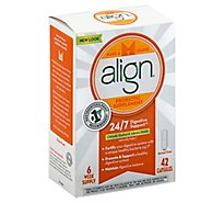 Align Probiotic Supplement Capsules Digestive Support - 42 Count