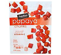 Signature SELECT Papaya Chunks - 12 Oz