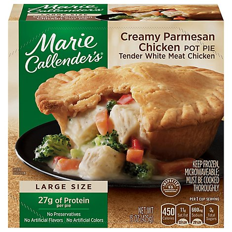 Marie Callenders Creamy Parmesan Chicken Pot Pie - 15 Oz