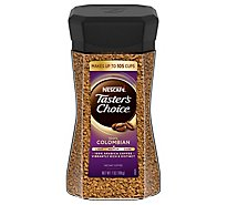 NESCAFE Tasters Choice Coffee Instant Colombian Medium Jar - 7 Oz