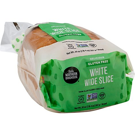 Little Northern Bakehouse Bread White Wide Slices - 20 Oz