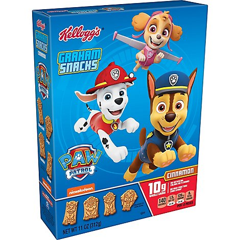 Keebler PAW Patrol Graham Snacks Cinnamon - 11 Oz