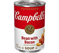 Campbells Condensed Soup Bean & Bacon - 11.25 Oz