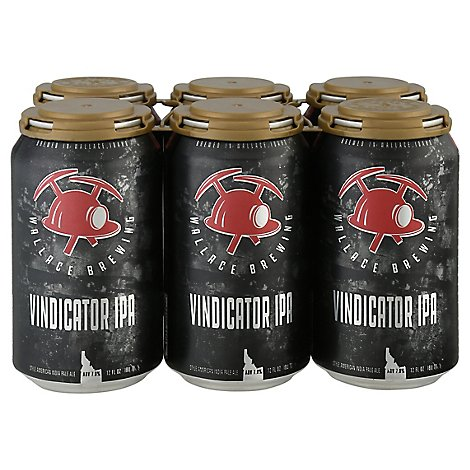 Wallace Vindicator Ipa In Cans - 6-12 Fl. Oz.