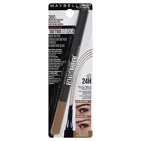 Maybe Brow Tint Pen Makeup Med Brwn - 0.037 Fl. Oz.