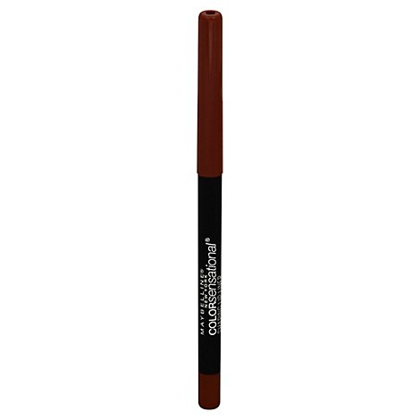 Maybelline Color Sensational Shaping Lip Liner Raw Chocolate Shrink Wrapped - 0.01 Oz