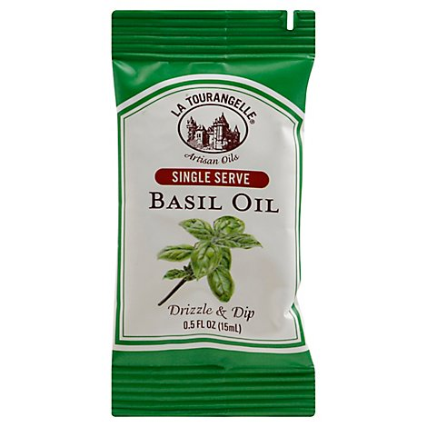 La Tourangelle Oil Basil Single Serve - 0.5 Oz