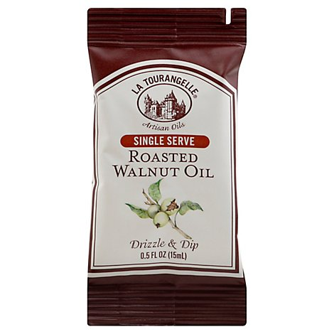 La Tourangelle Oil Walnut Roasted Single Serve - 0.5 Oz