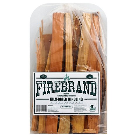 Firebrand Bagged Kindling - .4 Cu. Ft.