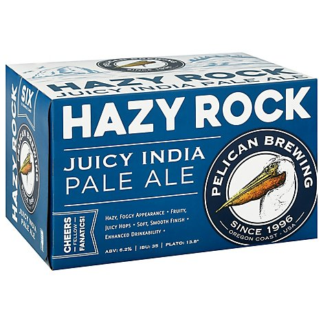 Pelican Hazy Rock Ipa In Cans - 72 Fl. Oz.