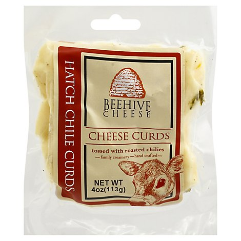 Beehive Cheese Hatch Chili Cheese Curds - 4 Oz