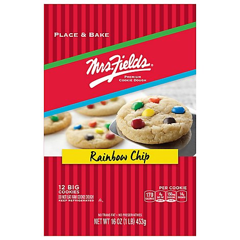 Mrs Fields Rainbow Chip Cookie Dough - 16 Oz