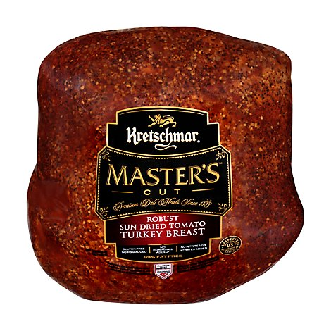 Kretschmar Turkey Breast Sundried Tomato - 0.50 LB
